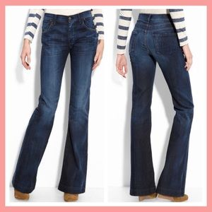 Citizens of Humanity 27 Hutton Jeans Mid-rise Wide